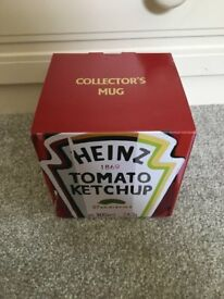 A tomato ketchup mug- collectors mug heinz ketchup, brand new in box
