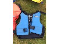 Buoyancy aids for sailing , 7 assorted kids small