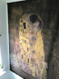 Huge Gustav Klimt wall hanging