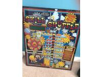 Retro wall art, slot machine cover