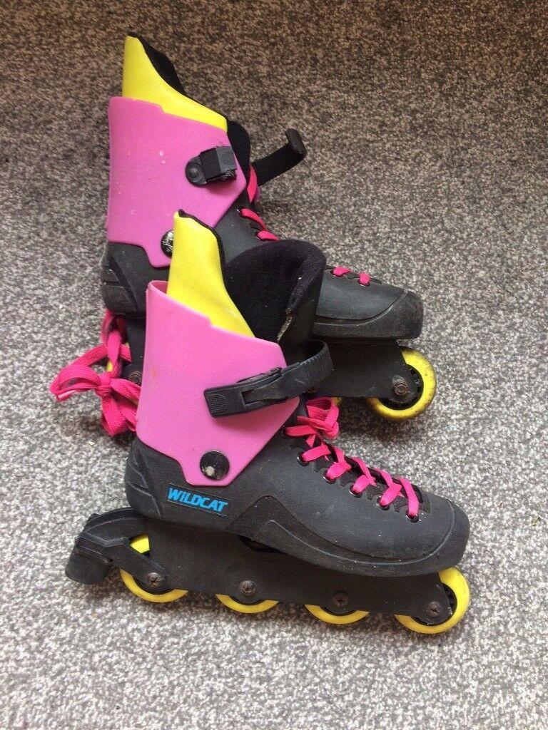 Size 6, Wildcat in-line skates / Rollerblades