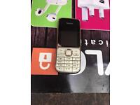 Nokia c2 in gold colour unlocked new boxed