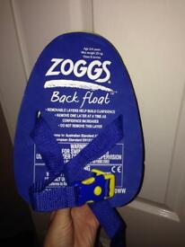 Zogg toddler swimming aid back float