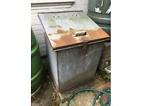 Metal Storage Container - For use as Petrol Store or similar, with latch for lock
