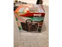 Rock JAM Bluetooth light show speaker
