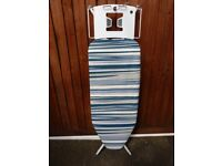 Ironing Board - Nearly new metal Easyhome measuring 127cm long x 50cm wide