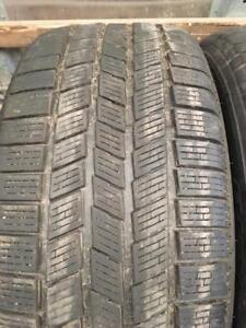 2 pneus d hiver 255/50r19 pirelli