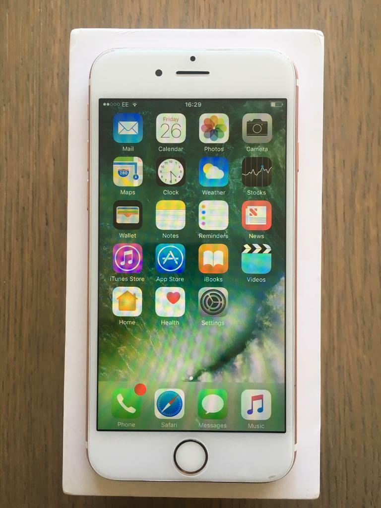 IPhone 6s 16gb unlocked rose goldin Egerton, ManchesterGumtree - iPhone 6s 16gb unlocked to all networks and in really good condition as you can see in the pics and comes boxed with brand new genuine apple charger. The screen has had a screen protector on and therefore is really good condition. Phone has been...