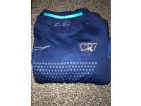 Boys CR 7 tracksuit and t-shirt