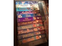 13 classic Disney tapes , collection only
