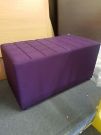 New office modular reception 2 seater seats / office fabric visitor benches