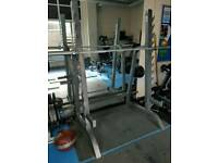 OLYMPIC BODY MAX SQUAT RACK COMMERCIAL