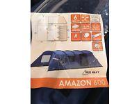 Vango Amazon 6 Berth Tent with Matching Equipment