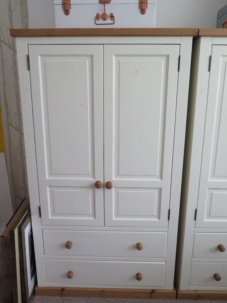 Solid Pine Painted Wardrobes