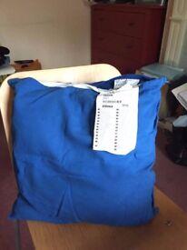 Ikea cushion pad with Ikea cover