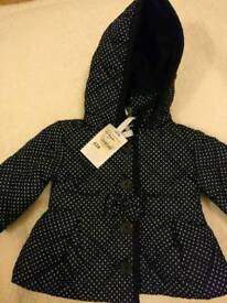 New Quilted jacket (0-3 months)