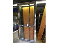 Shower door for sale, chrome finish