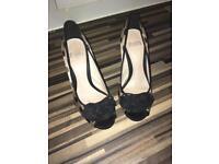 Size 4 Faith heels