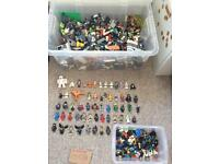 Over 10KG Lego plus over 120 Minifigures