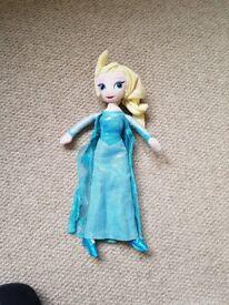 Frozen Elsa plush toy