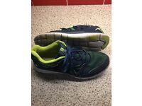 Karrimor men's trainers size 9/Eu 43, used but decent condition £5