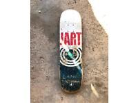JART skateboard deck, small