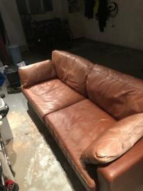 Vintage 3 Seater Sofa