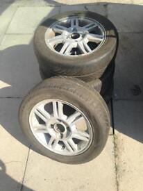 "14"" Ford Fiesta alloy wheels 4x108 PCD"