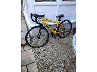 Boys Viking Racing Bike hardly used from new