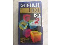 Fuji blank VHS tapes
