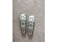 2 sky remotes for sale
