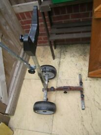 Outboard Motor Trolley/Stand for smallish motors