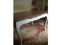 Elegant French dining table