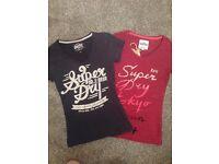 Womens superdry tshirts