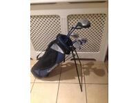 Slazenger panther club kids left handed golf clubs and bag