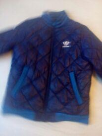 Adidas padded coat jacket size 14 years boys