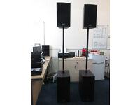 McGregor Mytek 1,200 Watt Passive PA Speaker System
