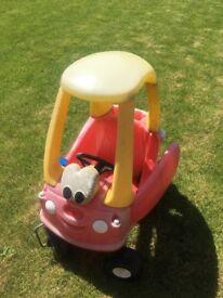 Little tile toddler car