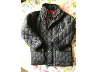 Boys age 6 JOULES quilted jacket