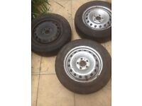 Vhauxhall vivaro , Renault traffic or Nissan primstar steel wheels
