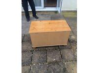 Wooden Storage Box - Used