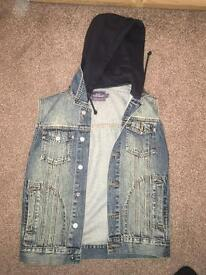 Topman denim overjacket