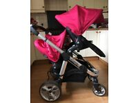 iCandy Apple 2 Pear Double Pushchair