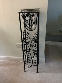 Wrought Iron Decorative Wine Rack