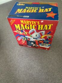 Marvins Magic Hat & Box of Tricks