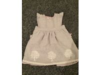Mint condition girls monsoon dresses age 18-24 months £5 each
