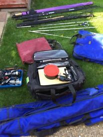 Mixed fishing gear for sale
