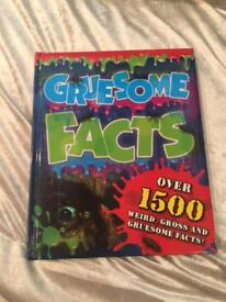 Gruesome facts book.