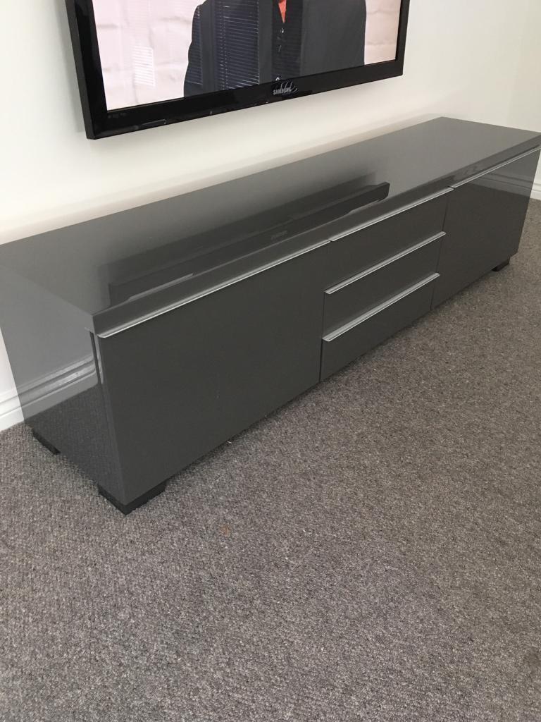 Ikea grey gloss tv unit in Ruddington Nottinghamshire  : 86 from www.gumtree.com size 768 x 1024 jpeg 108kB