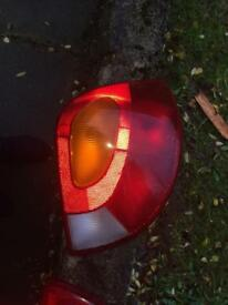 Mk4 fiesta rear lights